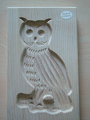 owl cookie mold