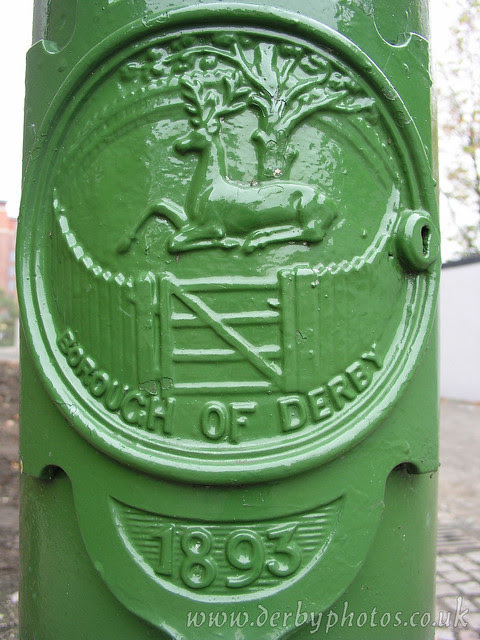 Handyside Lamp 2 of 4, Derby Cathedral Green