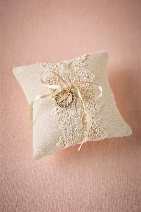 Lacework Ring Pillow from @BHLDN   Flower Girls & Ring
