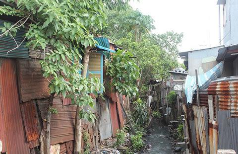 nhà ổ chuột, khu đô thị, người dân, dân nghèo, lao động nghèo,
