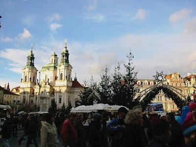 The Christmas markets of Prague
