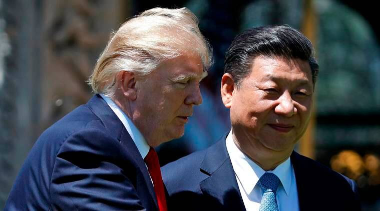 US President Donald Trump and Chinese President Xi Jinping. (Source: AP)