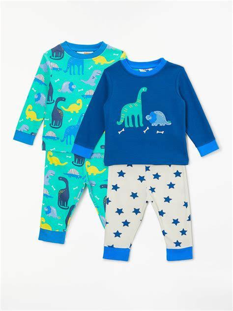 John Lewis & Partners Baby GOTS Organic Cotton Dinosaur
