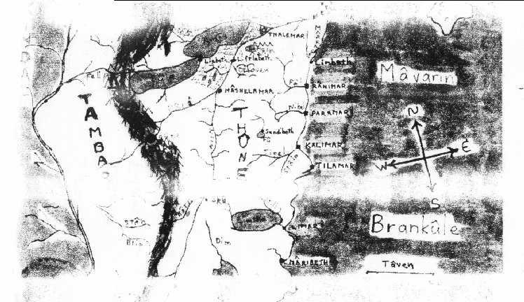 an early Mâvarin map.