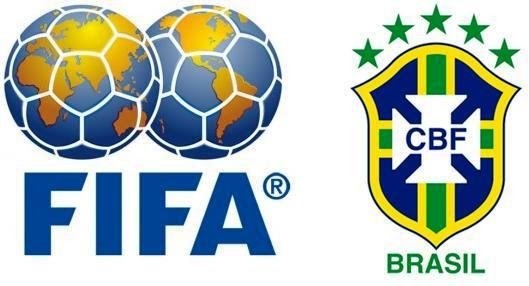 Resultado de imagem para cbf e fifa - logos