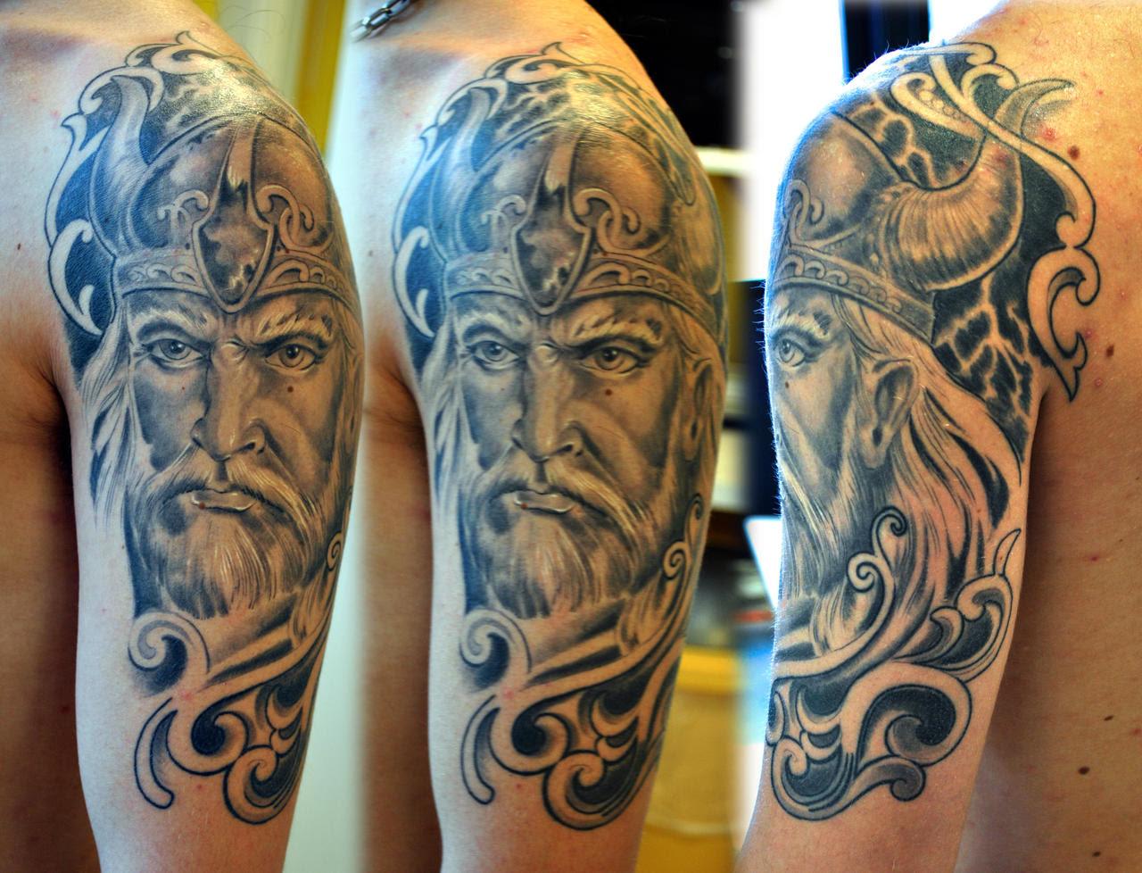 Norse Half Sleeve Tattoos