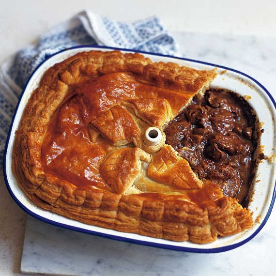 Steak, Kidney, Ale and Mushroom Pie - Woman And Home