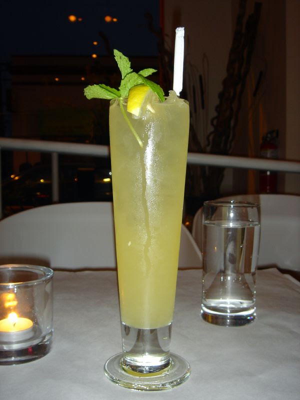 Fresh Ginger Lemonade