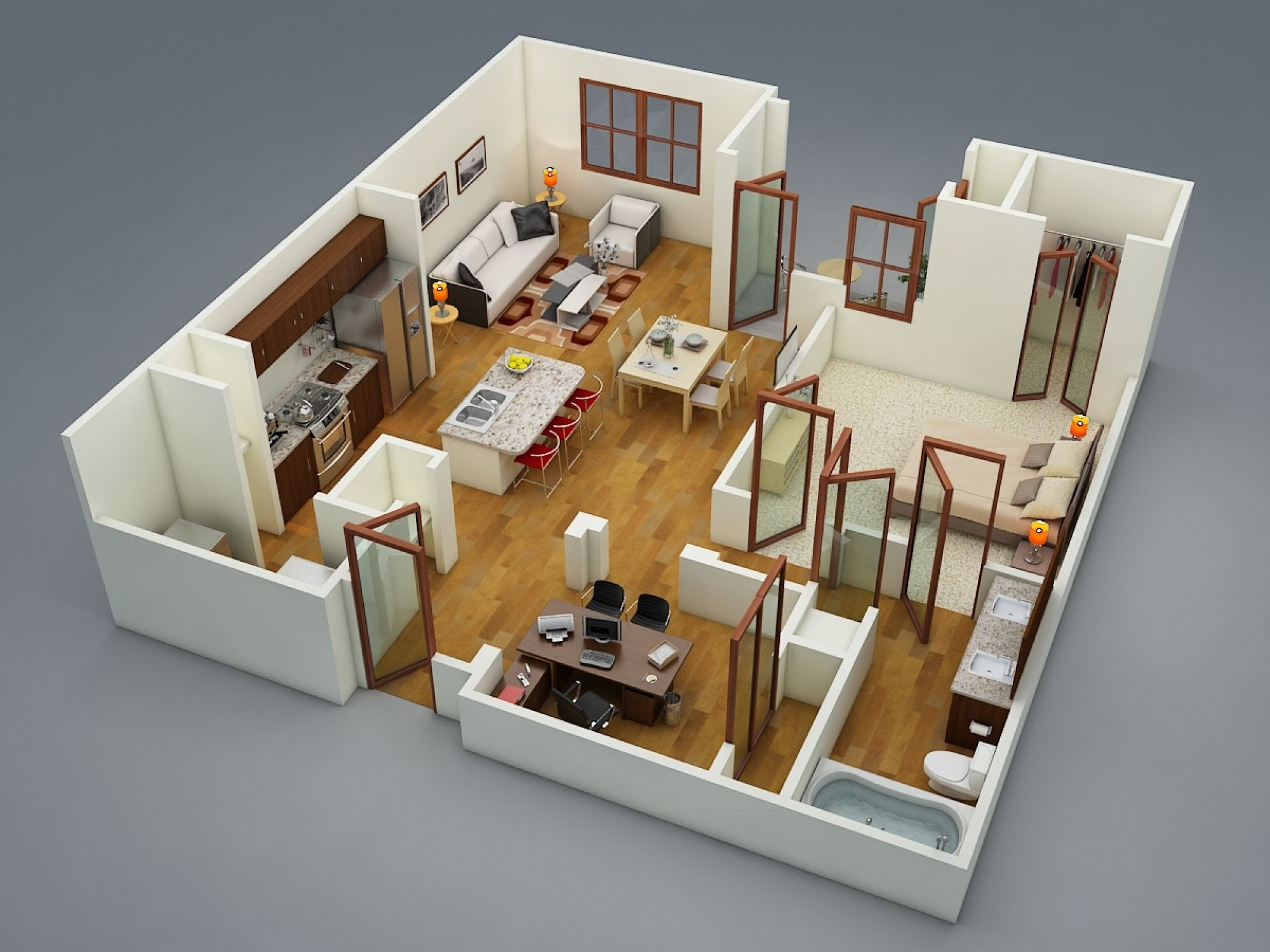 22 Bedroom Apartment/House Plans