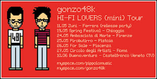 Gonzo48k in tour