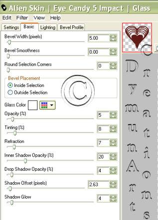 Glass Filter Diagram