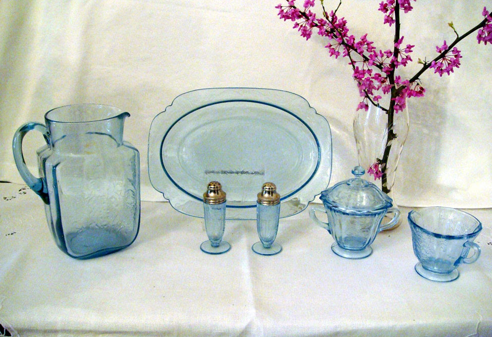 depression glass pattern of the month