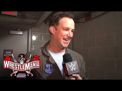 "Rick ""Humpty"" Gallup's awe-inspiring WrestleMania moment: WrestleMania 37 Exclusive, April 11, 2021"