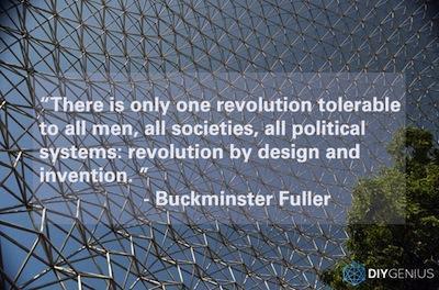 Buckminsterfuller Revolution and Design