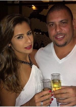 Ronaldo e Paula Morais começaram a namorar em dezembro de 2012