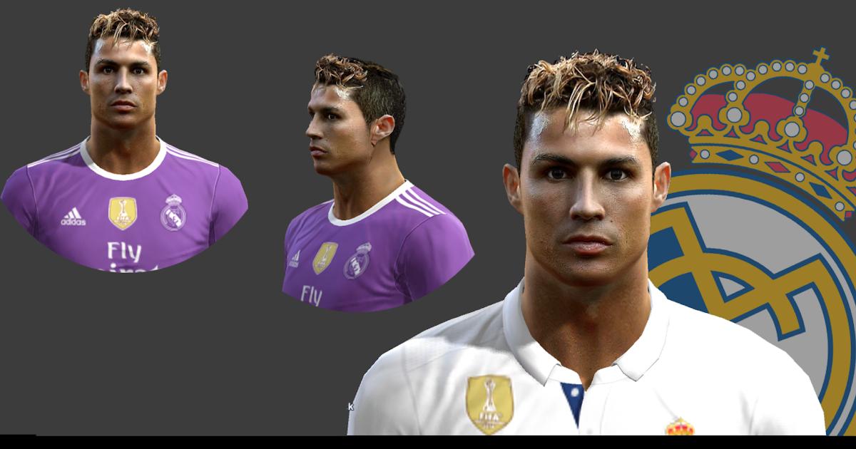 PES Cristiano Ronaldo New Face Hair Minostau - Download hair cristiano ronaldo pes 2013