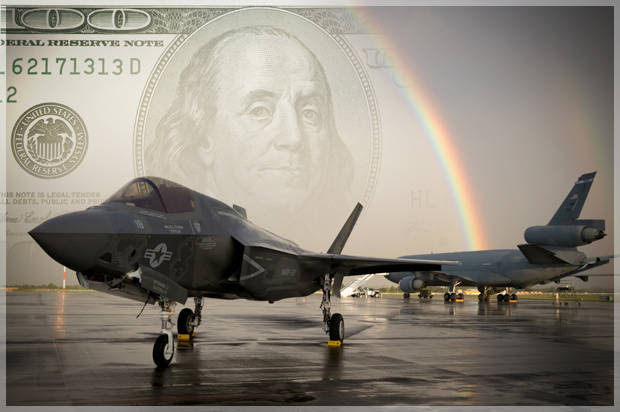 When pork flies: The F-35, the Pentagon's $1.1 trillion flying money pit, is (sort of) ready for duty