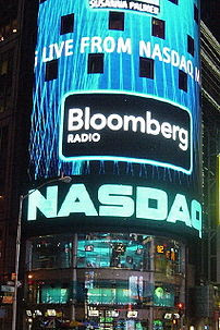 NASDAQ in Times Square, New York City.
