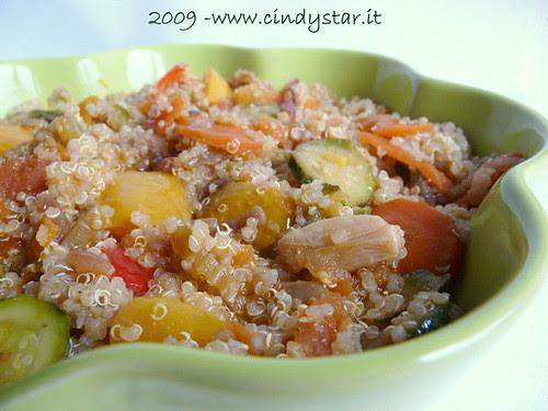 quinoa stufata