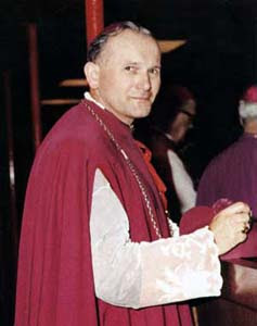 Karol Wojtyla, arzobispo de Cracovia