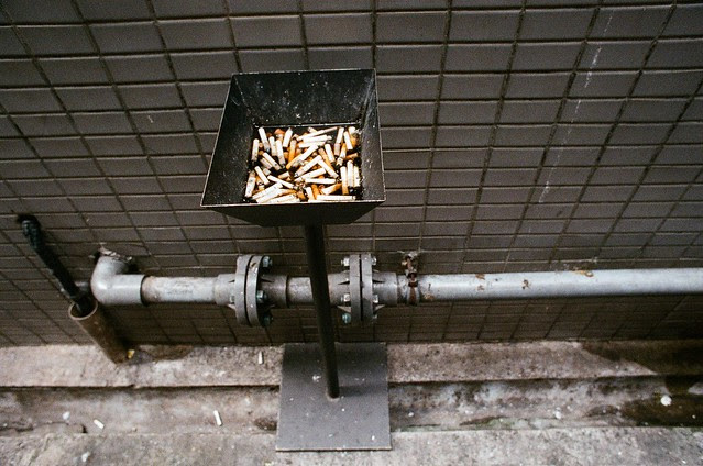 Ashtray in Hong Kong