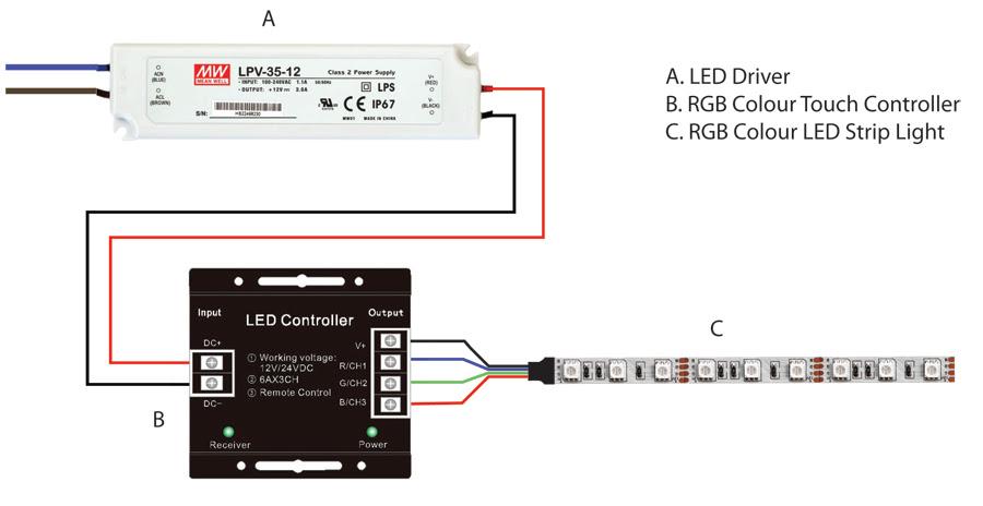 12 Volt Led Strip Light Wiring Diagram - Wiring Diagram ...