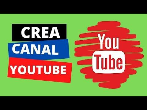 Como crea un canal de Youtube