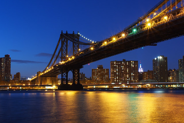 Manhattan bridge|New York