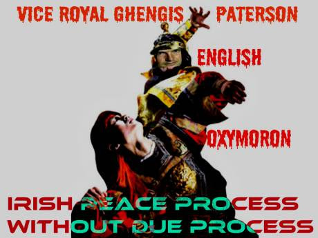 Irish Peace Process Vice Royal English Oxymoron
