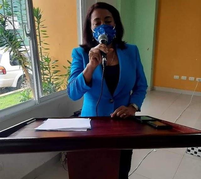 La Alcaldesa de polo, Danilsa Cuevas,   Clama Por un Juez y un Fiscal para este Municipio.
