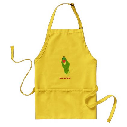 Zombie Hand - You Are What You Eat Adult Apron