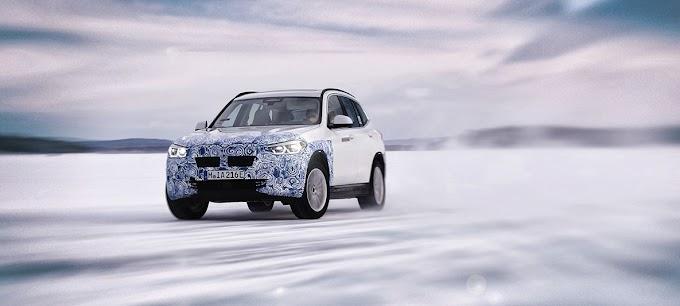 BMW показала первый электрический кроссовер iX3