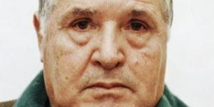 Handout of Sicilian mafia boss Riina