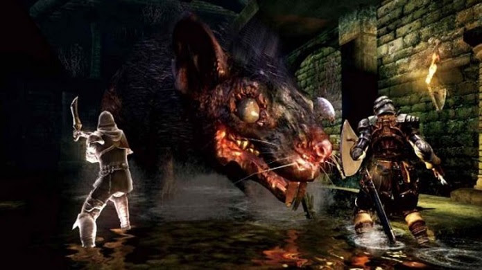 Dark Souls II terá um mundo ainda maior do que o primeiro game da franquia. (Foto: Divulgação)