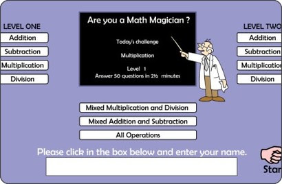 http://resources.oswego.org/games/mathmagician/maths1.html