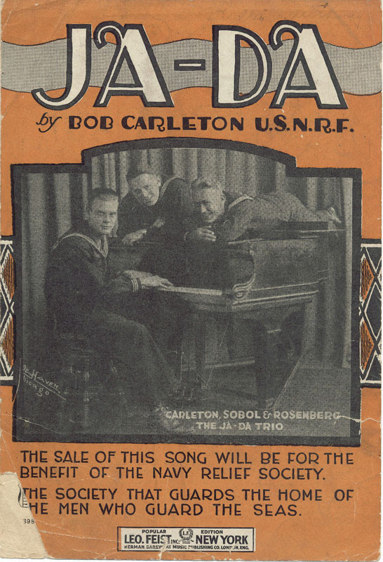 http://upload.wikimedia.org/wikipedia/commons/9/91/Ja-Da_cover_1918.jpg