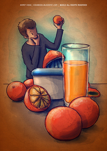orange juice for hülya