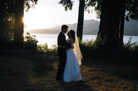 Sunset at Lake Quinault Lodge!   Weddings in Olympic