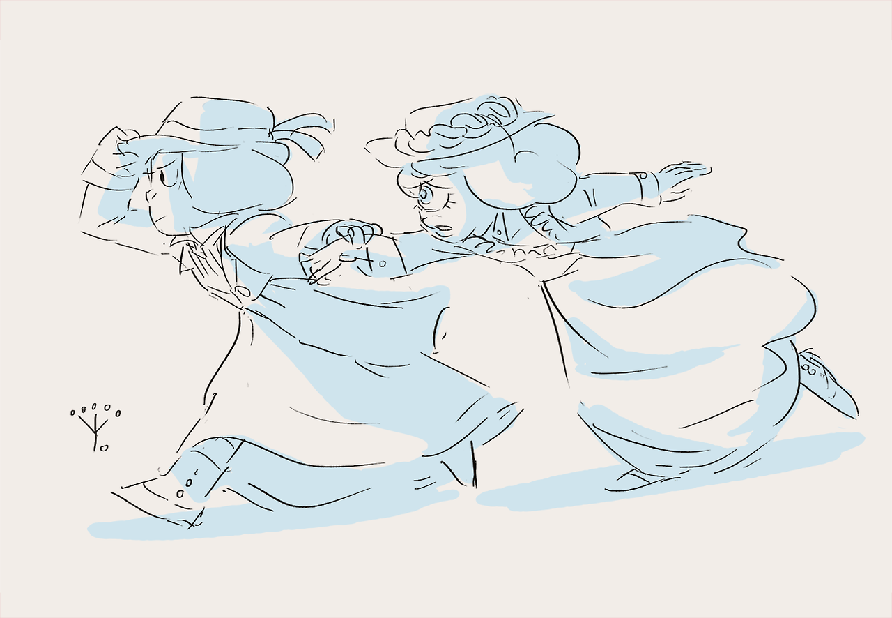 Guess who's back! Me!) And I am so glad to draw my suffragettes again. but! I think that soon I will draw more Lapis and Peridot humans, because I like any different AU with them. Some ideas are...
