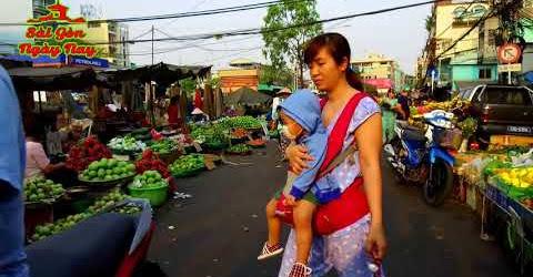 """Xóm Đất Chợ Lớn Chợ Kim Biên Chợ Trái Cây """"Sài Gòn ngày nay"""" có gì đổi thay so với Sài Gòn 1975"""