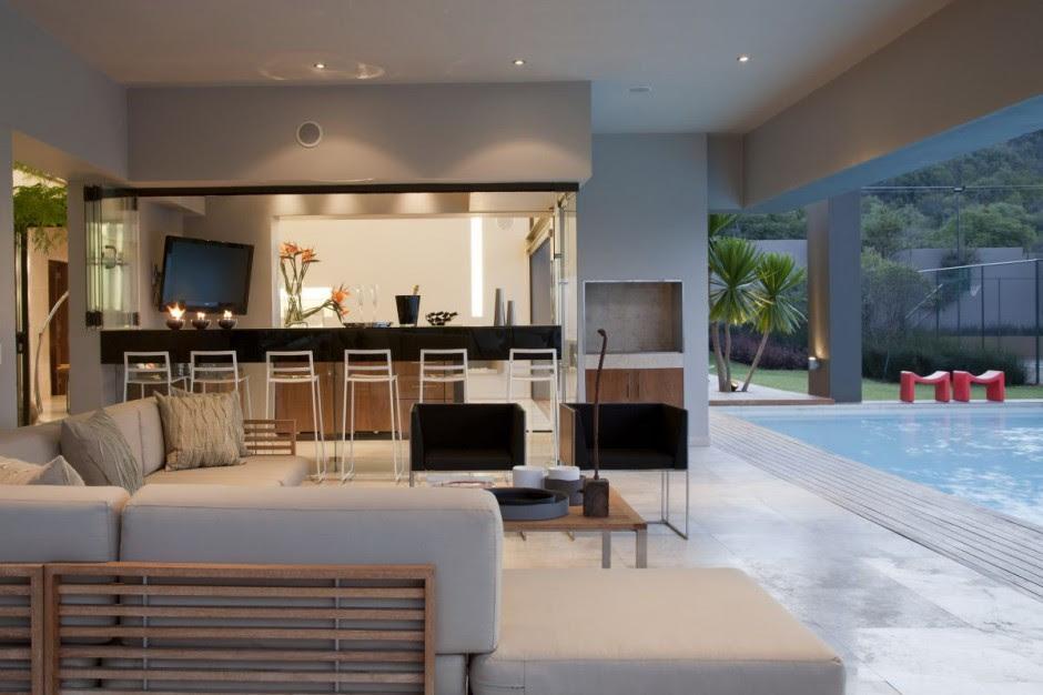 Den And Pool Of Nice Houseinterior Design Ideas
