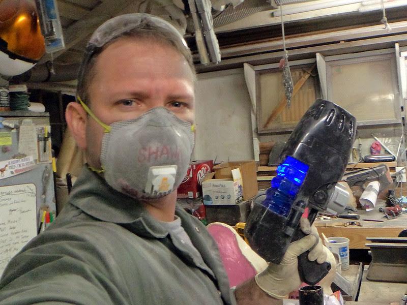 Dangerous Me with Plasma Pistol