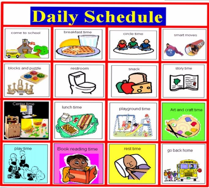 1000+ ideas about Visual Schedule Preschool on Pinterest ...