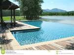 Swimming Pool In Beautiful Sce Royalty Free Stock Photos - Image ...