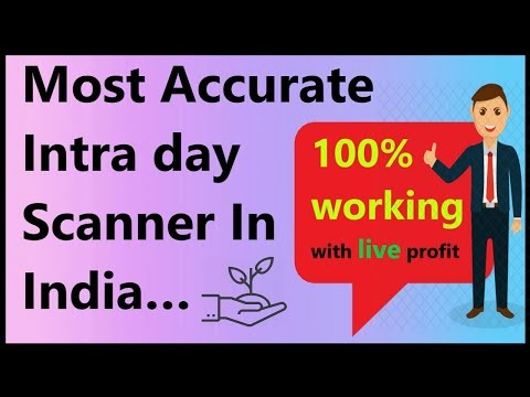 Most accurate Intra day scanner in India | 100% working | auto buy sell ...