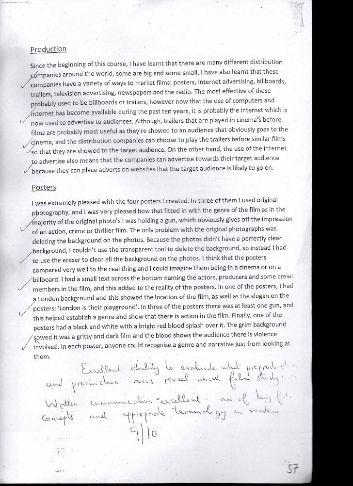 example of an evaluation essay on a movie