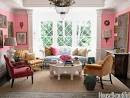 Living Room Paint Color Ideas - Spring Living Room - House Beautiful
