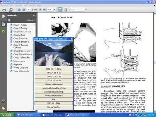Mercury Outboard Motor Service Manual