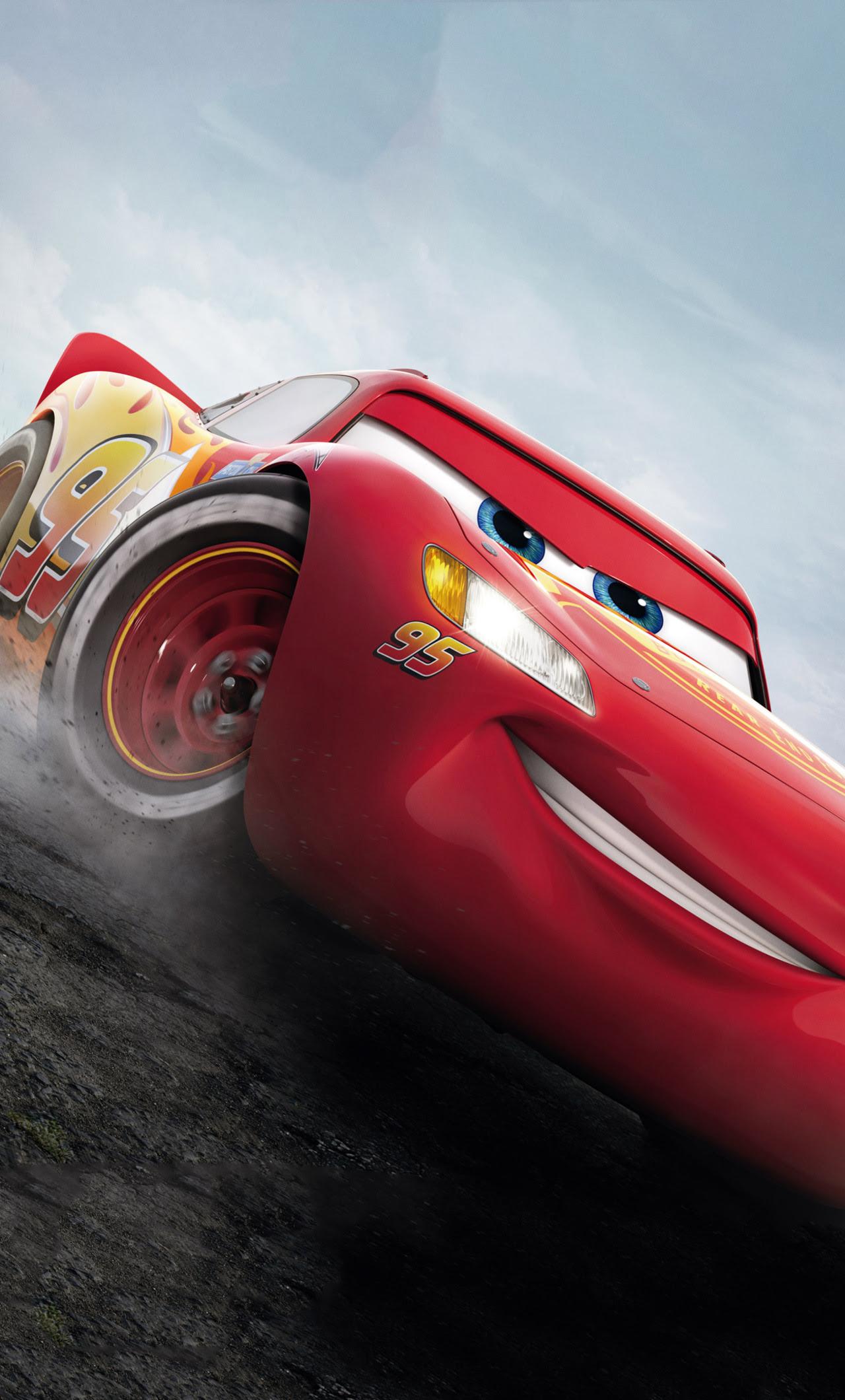 1280x2120 Lightning McQueen Cars 3 iPhone 6+ HD 4k ...