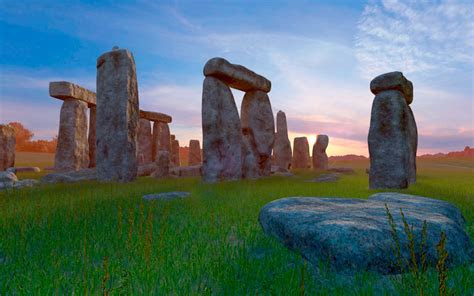 stonehenge  screensaver  animated  screensaver